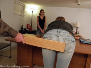 girls spanked at school by the principal