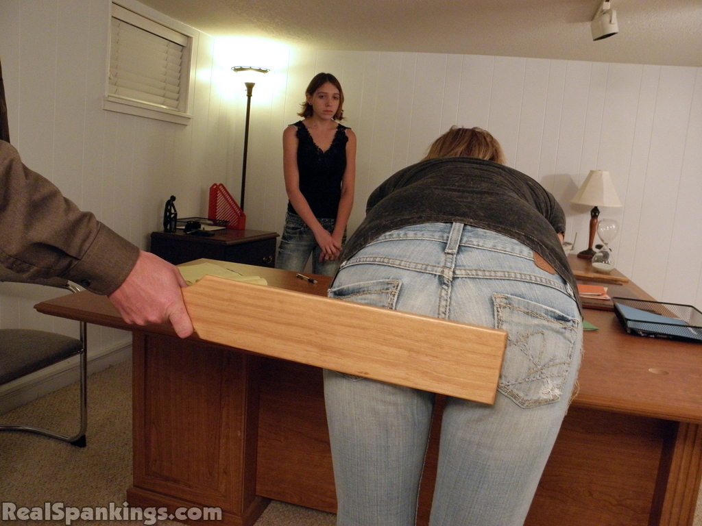 girls punishment: