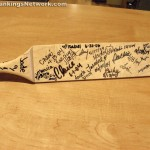 signed school paddle
