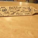 high school corporal punishment paddle signed