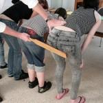teen school punishment paddle
