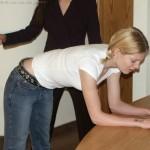 teen girl corporal punishment at school