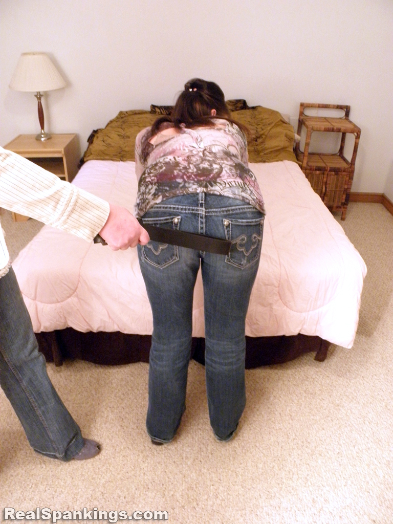 Bad girl spanked -