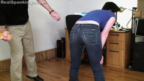 school spanking