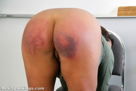 realspankings school swats girls getting paddled at school 12