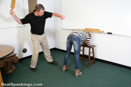 realspankings school swats girls getting paddled at school 15