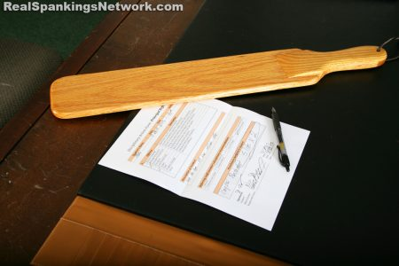 school corporal punishment form